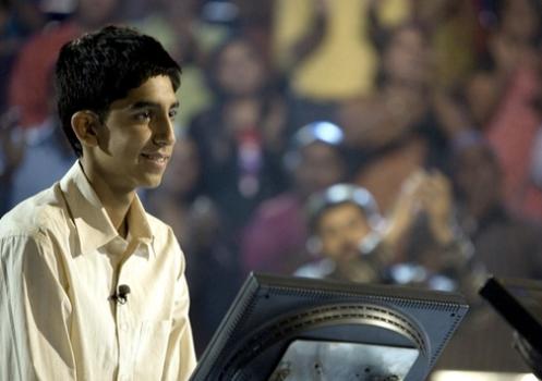 Dev Patel in Slumdog Millionare