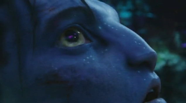 Sam Worthington in James Cameron's Avatar