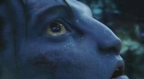 Sam Worthington in James Cameron's Avatar