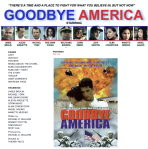 Goodbye America Website Landing Page